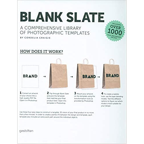 Blank Slate: A Comprehensive Library of Photographic Dummies [With DVD] (Capa dura)