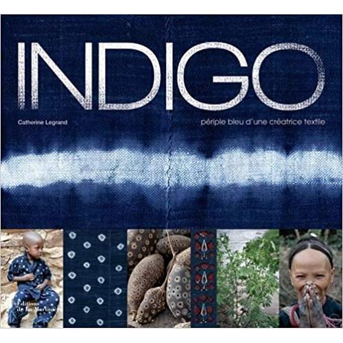Indigo: Périple bleu d'une créatrice textile