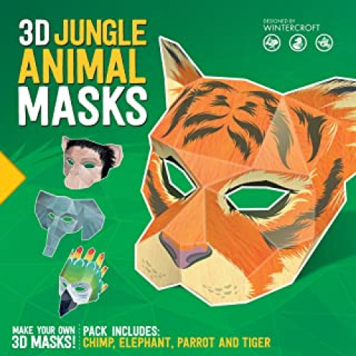Jungle Animal Masks
