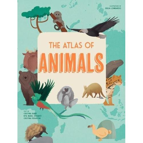 Atlas Of Animals (Inglês) Capa dura